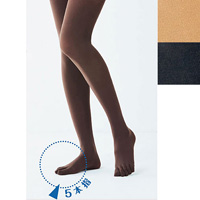 [Cecile] 5-Toe Tights, 50 Denier / 2018 Winter Lineup, Inner