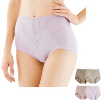 [Cecile] Cotton-Blend  Short Girdle, Different Color 2-Pack / Midwinter 2018 New Item, Inner