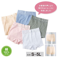 [cecile] Panties, Different-Color 5-Pack / Midwinter 2018 New Item, Inner