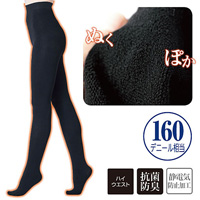 [cecile] Fleece Lined High Waist Tights  / Midwinter 2018 New Item, Inner