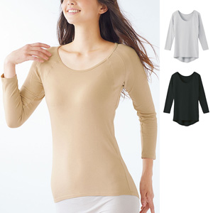 [cecile] 8-length Sleeves with Large Moisture Absorption / New Arrival Spring Summer 2020, Inner