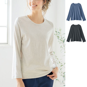 [cecile] SZT Shirt That Keeps Shape Long Sleeves / New Arrival Spring 2020, Inner