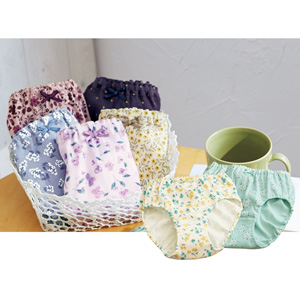 [cecile] 100% Cotton Panties, 7-color Set / New Arrival Summer 2020, Inner