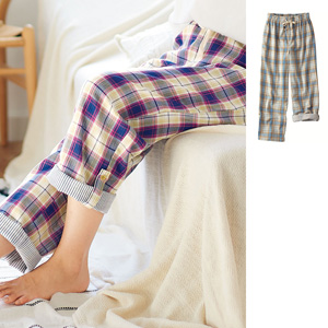 [cecile] Double Gauze Pants (100% Cotton) / New Arrival Summer 2020, Inner