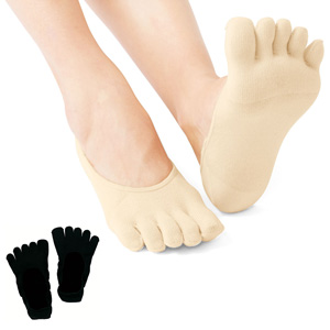 [cecile] 5-Toes Foot Cover, 2 pairs / New Arrival Summer 2020, Inner