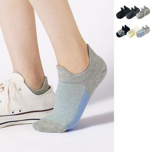[cecile] Sneaker Socks, 3 pairs / New Arrival Summer 2020, Inner