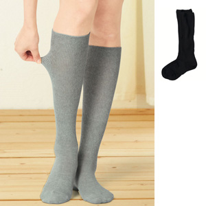 [cecile] High Socks, 2 pairs same color / New Arrival Summer 2020, Inner