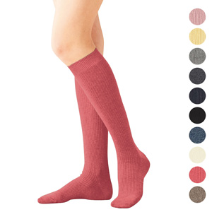 [cecile] Family High Socks, 3 pairs same color / New Arrival Summer 2020, Inner