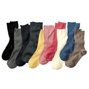 [cecile] Family Socks, 3 pairs same color / New Arrival Summer 2020, Inner