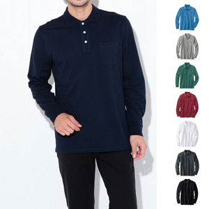 [cecile] 100% Cotton Polo Shirt (long sleeve) / New Arrival Summer 2020, Inner