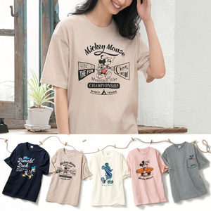 [cecile] 100% Cotton Print T-Shirt / New Arrival Summer 2020, Inner