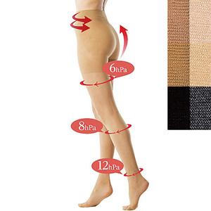 [cecile] Compression Pantyhose, 40 Denier /New 2021 spring-summer item,inner