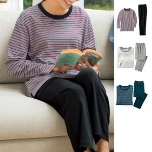 [cecile] T-type pajamas (unisex)/New 2021 spring-summer item,inner