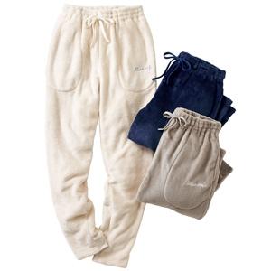cecile warm hibernating room pants/New 2021 spring-summer item,inner