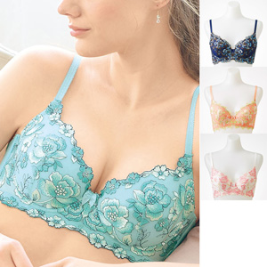 cecile bra that gives clean armpit & bust/New 2021 spring-summer item,inner