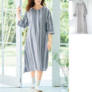 cecile fluffy & relaxing double gauze dress/New 2021 spring item, inner