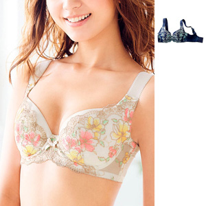 [cecile] Glamour Bra with Firm Support Thick Strap/New 2021 spring item, inner