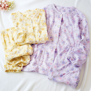 [cecile] Knitted Gauze Pajamas Made in Japan (100% Cotton)/New 2021 spring item, inner