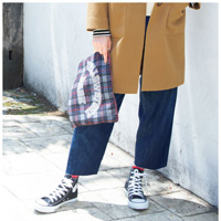 [Cecile] Denim Boy-Style Pants / 2018 Winter New Item, Teens, cupop