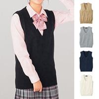 [Cecile] Knit Vest / 2018 Winter New Item, Teens, cupop