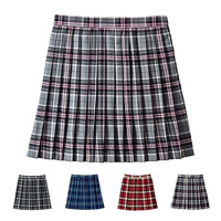 [Cecile] Check Pleated Skirt / 2018 Winter New Item, Teens, cupop