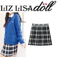 [Cecile] Pleated Skirt (LIZ LISA doll) / Winter 2018 New Item, Teens', cupop