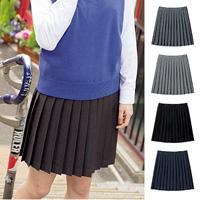 [Cecile] Plain Pleated Skirt / 2018 Winter New Item, Teens, cupop