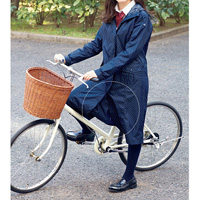 [Cecile] Bicycle Raincoat (w/Storage Pouch)/ 2018 Winter New Item, Teens, cupop