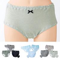 [Cecile] Soft Panties (3-Pack) / 2018 Winter New Item, Teens, cupop