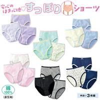 [Cecile] Panties (3-Pack) / 2018 Winter New Item, Teens, cupop