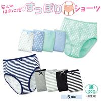 [Cecile] Panties (5-Pack) / 2018 Winter New Item, Teens, cupop