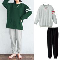 [Cecile] T-Type Pajamas / Winter 2018 New Item, Teens', cupop
