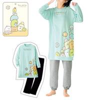 [Cecile] Big T-Type Pajamas (Sumikkogurashi) / Winter 2018 New Item, Teens', cupop