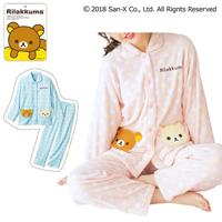 [Cecile] Shirt Type Pajamas (Rilakkuma) / Winter 2018 New Item, Teens', cupop