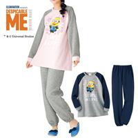 [Cecile] T-Type Pajamas (Minions) / Winter 2018 New Item, Teens', cupop