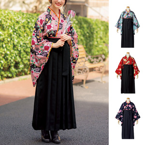 [cecile] Easy to Wear! Hakama Set / New Arrival Spring 2020, Teens, cupop