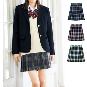 [cecile] Plaid Pleated Skirt (Lining, with Adjuster) / New Arrival Spring 2020, Teens, cupop