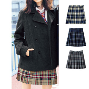 [cecile] Plaid Pleated Skirt (Antibacterial, Deodorant) / New Arrival Spring 2020, Teens, cupop