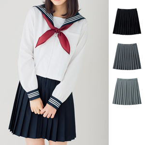 [cecile] Plain Pleated Skirt / New Arrival Spring 2020, Teens, cupop