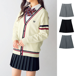 [cecile] Plain Pleated Skirt (Lining, with Adjuster) / New Arrival Spring 2020, Teens, cupop