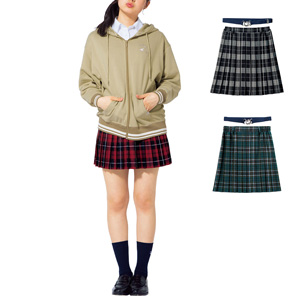 [Cecile] Pleated Skirt (with rubber belt) / New Arrival Spring 2020, Teens, cupop