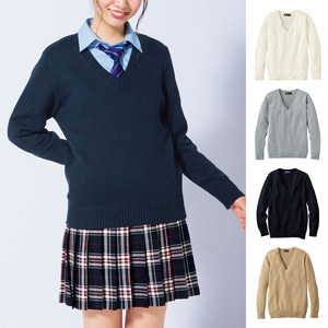 [Cecile] V-Neck Knit / New Arrival Spring 2020, Teens, cupop
