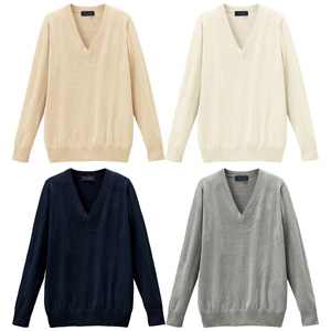 [cecile] Thin V-Neck Knit (Antibacterial & Deodorant) / New Arrival Spring 2020, Teens, cupop