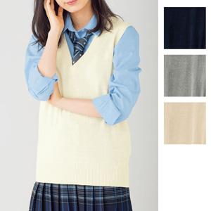 [cecile] Thin Knit Vest (Antibacterial & Deodorant) / New Arrival Spring 2020, Teens, cupop