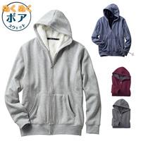 [Cecile] Fleece-Lined Sweatshirt Hoodie / Winter 2018 New Item, Men's Large Size