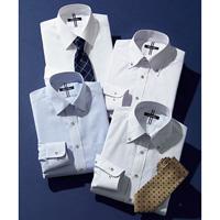 [Cecile] Permanent-Press Design Shirt (Slender Form) / 2018 Winter New Item, Men's