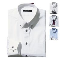 [Cecile] Permanent-Press Design Shirt (Loose Form) / 2018 Winter New Item, Men's