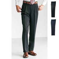 [Cecile] Waist-Adjustable Slacks (Two-Tuck) / 2018 Winter New Item, Men's King Size Collection