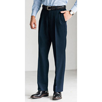 [Cecile] Washable Slacks (Two-Tuck) Navy / 2018 Winter New Item, Men's King Size Collection