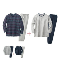 [Cecile] 4-Piece Set Pajamas (Unisex) / 2018 Winter New Item, Men's King Size Collection